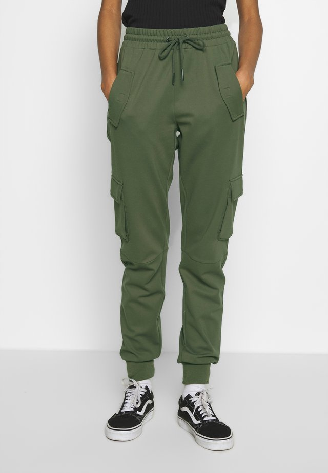 PANT - Trousers - dusty olive