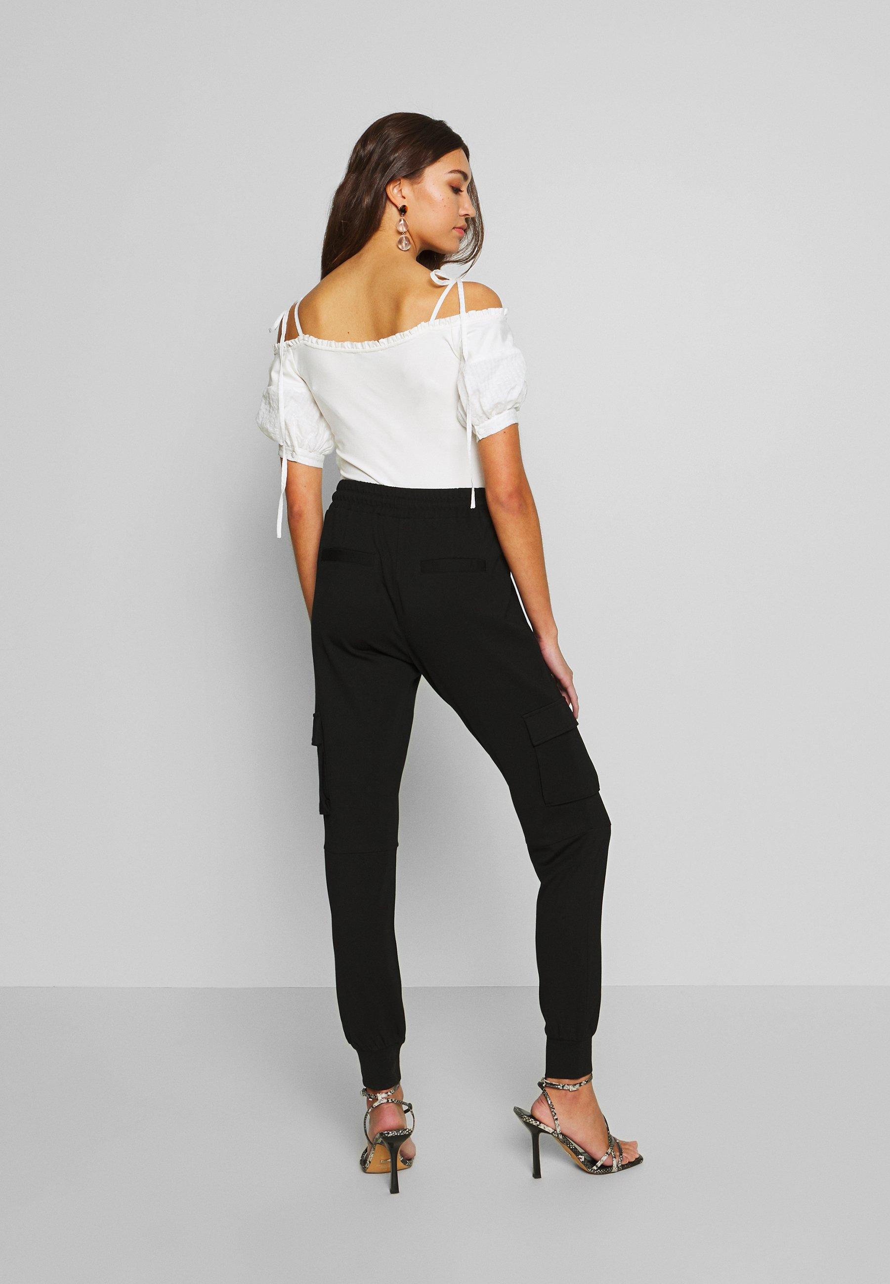 Noisy May PANT - Spodnie materiałowe - black
