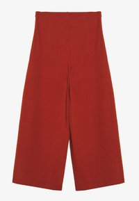 Noisy May - NMBALE LOOSE CULOTTE PANT - Kalhoty - burnt henna - 1