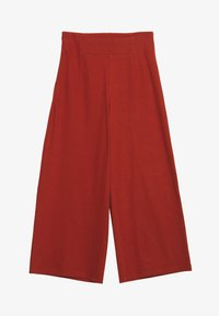 Noisy May - NMBALE LOOSE CULOTTE PANT - Kalhoty - burnt henna - 0