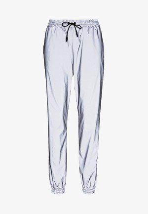 NMRANDY REFLEX PANT - Pantalon classique - silver