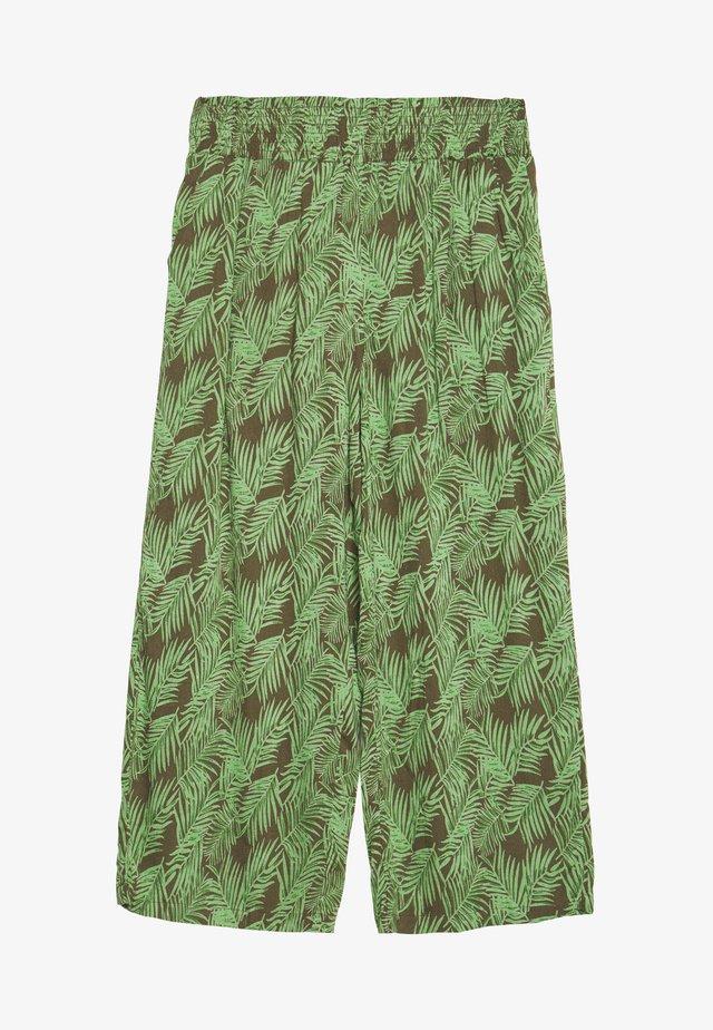 NMFLORA NM CULOTTE PANT - Pantaloni - kalamata/green ash