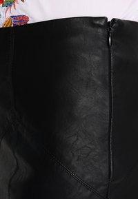 Noisy May - NMREBEL SKIRT - Minifalda - black - 4
