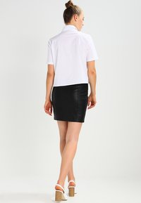 Noisy May - NMREBEL SKIRT - Minifalda - black - 2