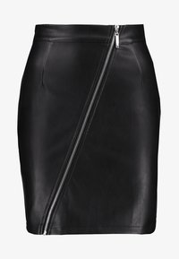 Noisy May - NMPENJA SKIRT - Bleistiftrock - black
