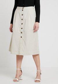 Noisy May - NMLINE LONG SKIRT - A-line skirt - oatmeal - 0