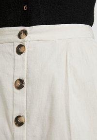 Noisy May - NMLINE LONG SKIRT - A-line skirt - oatmeal - 4