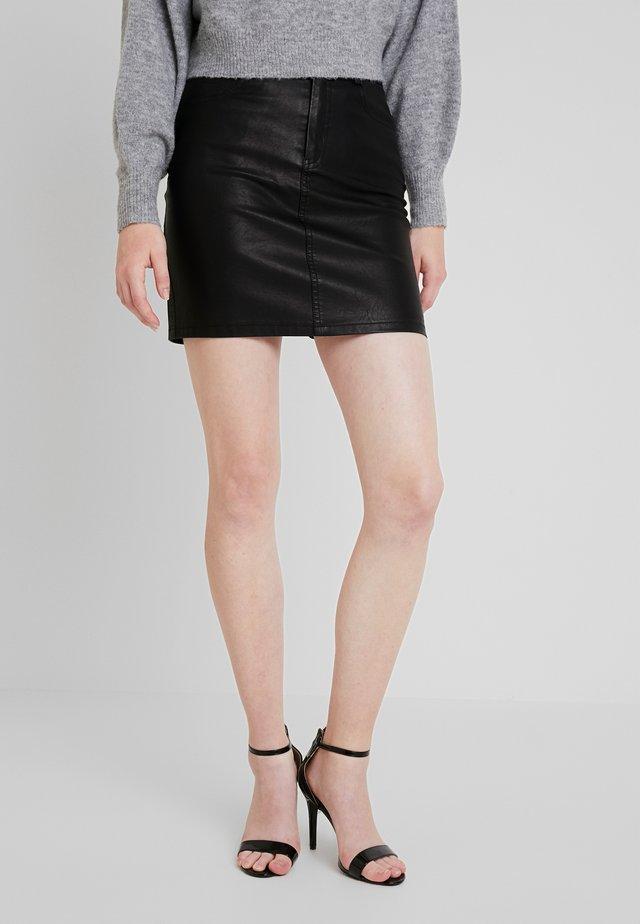 Mini skirt - black