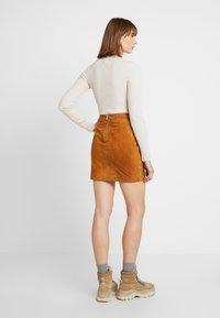 Noisy May - Mini skirt - sudan brown - 2