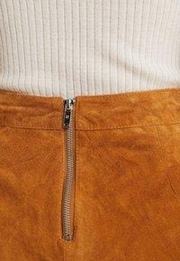 Noisy May - Mini skirt - sudan brown - 4