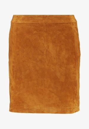 Miniskjørt - sudan brown