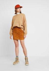 Noisy May - Mini skirt - sudan brown - 1