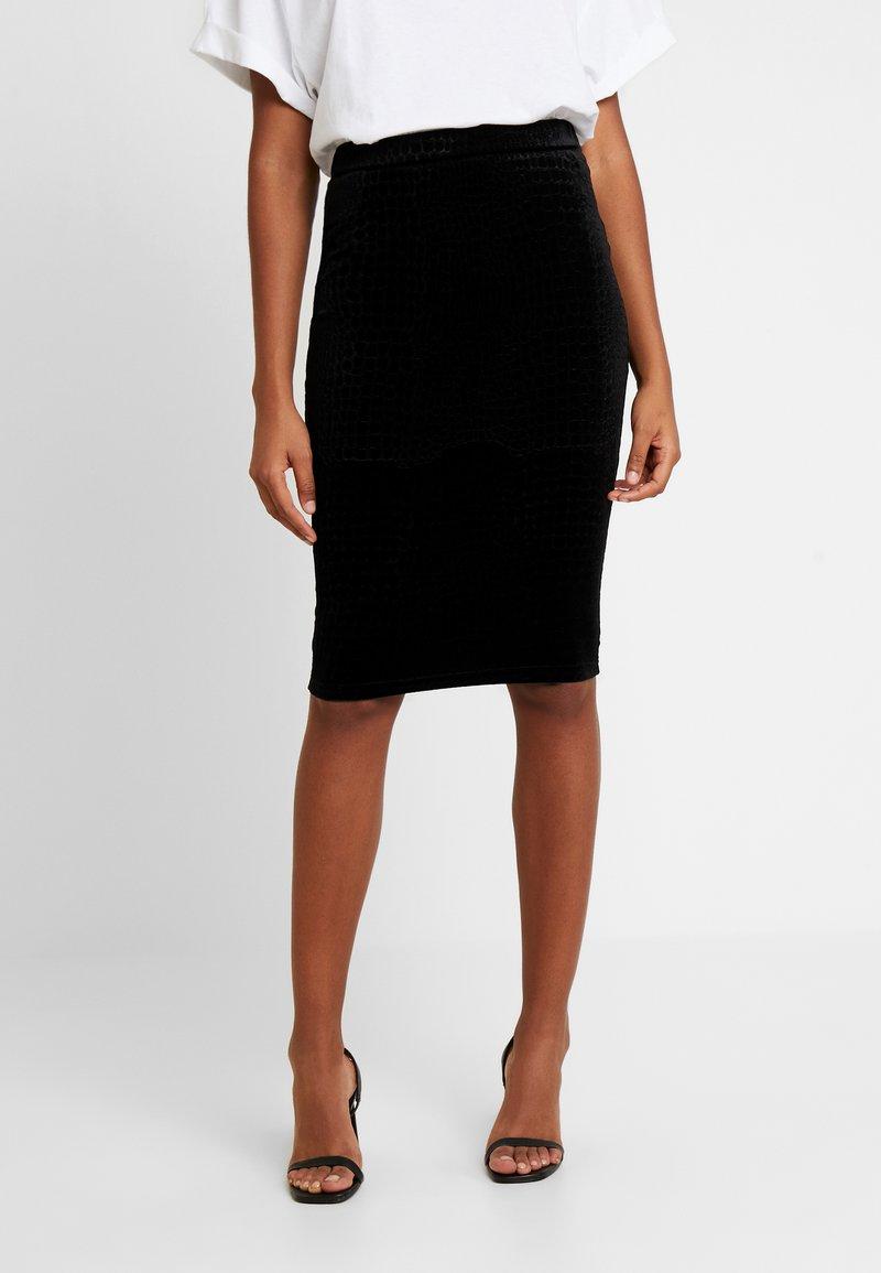 Noisy May - Blyantnederdel / pencil skirts - black