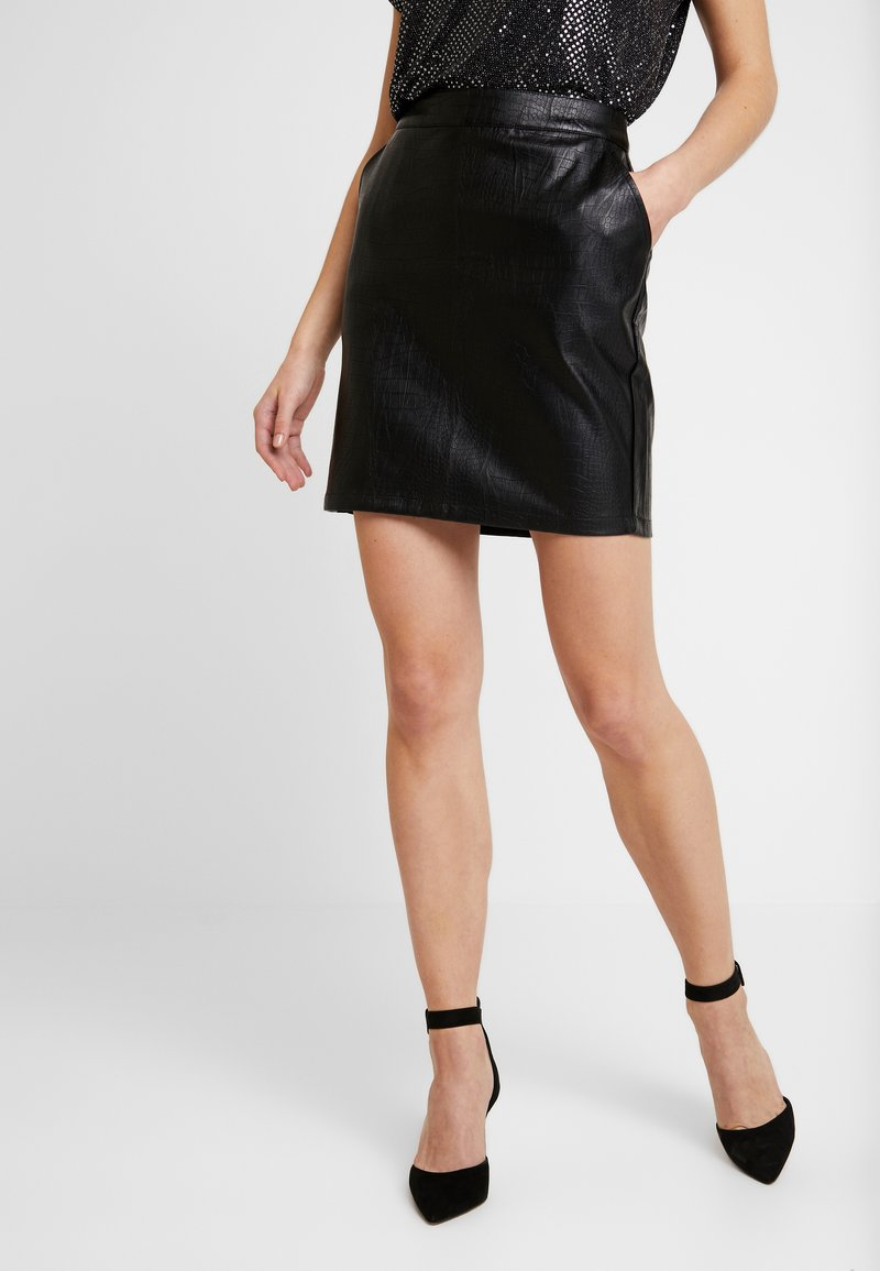 Noisy May - Mini skirt - black