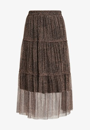 NMSHIMMY LONG SKIRT - Maxi sukně - brown sugar