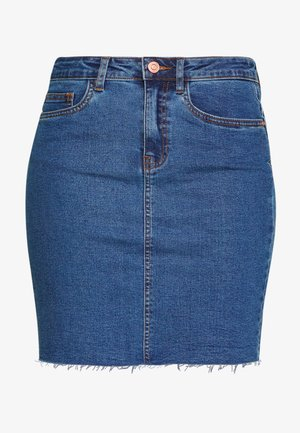 CALLIE SHORT SKIRT  - Denim skirt - medium blue denim