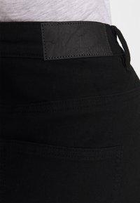 Noisy May - CALLIE SHORT SKIRT - Denimová sukně - black - 5