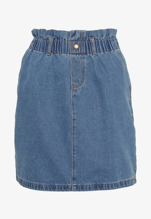 NMJUDO PAPBACK SKIRT - Jeansrok - medium blue denim