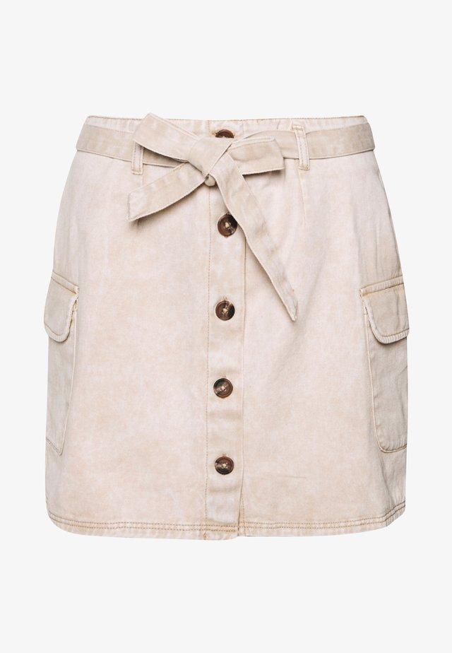 NMELLEN  - Denim skirt - acid wash