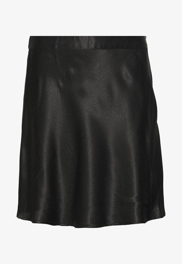 NMSALUKI SHORT SKIRT - A-snit nederdel/ A-formede nederdele - black
