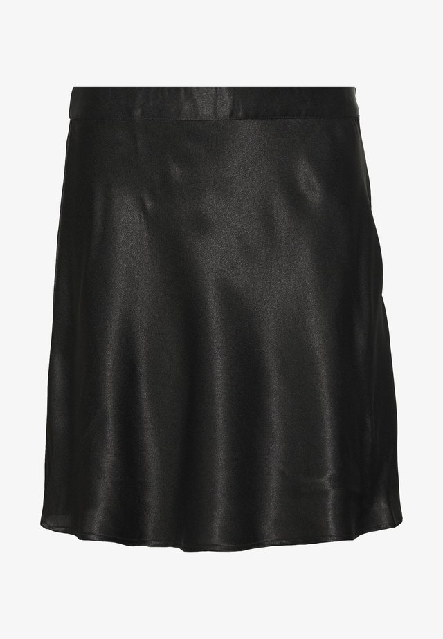 NMSALUKI SHORT SKIRT - A-linjekjol - black