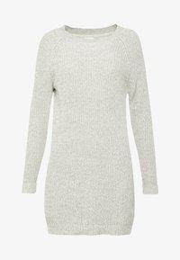 Noisy May - NMSIESTA O-NECK DRESS - Robe pull - oatmeal - 3