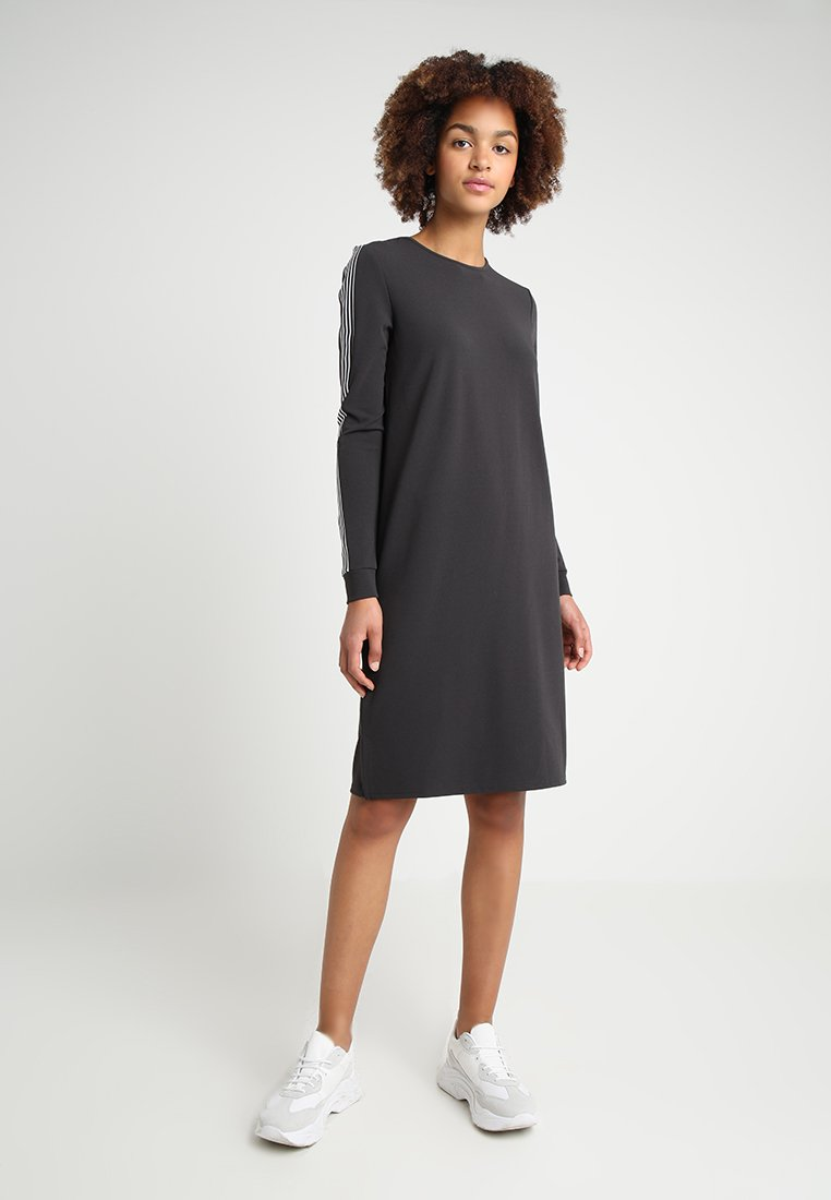 Noisy May - NMLIRA DRESS  - Jerseyjurk - obsidian/white/black
