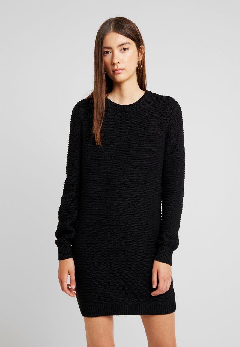 Noisy May - Pletené šaty - black