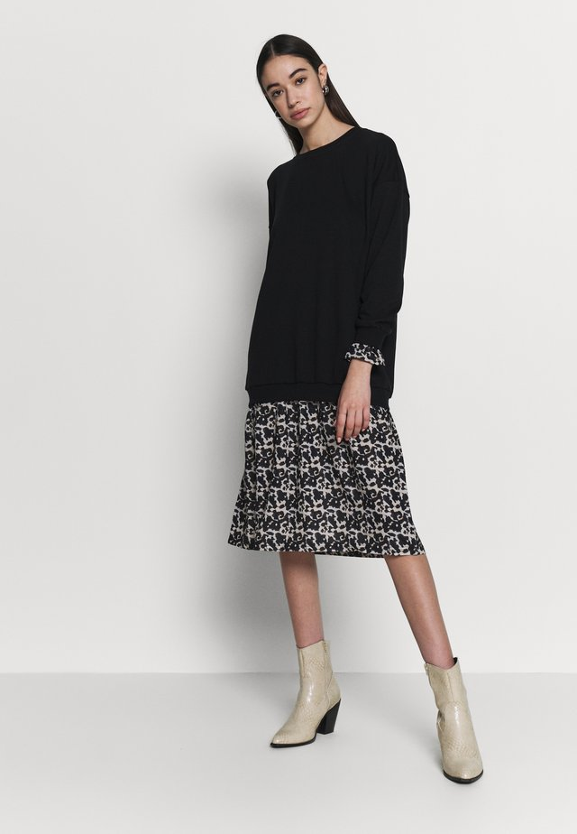 NMTORTOISELLE  - Day dress - black/off-white