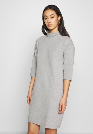 NMDEY 3/4 SLEEVE - Kjole - light grey melange