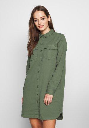 SOPHIE SHORT DRESS - Denim dress - kalamata