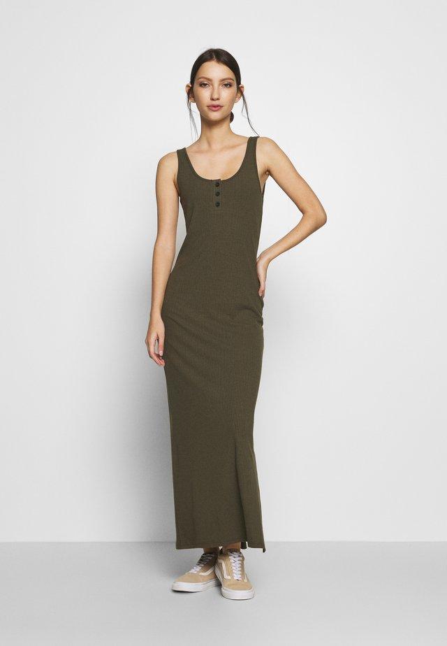 NMMOX MAXI DRESS  - Maxi-jurk - olive night