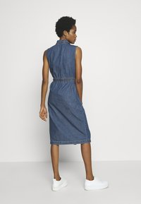 Noisy May - NMEZGI LONG DRESS - Day dress - medium blue denim - 2
