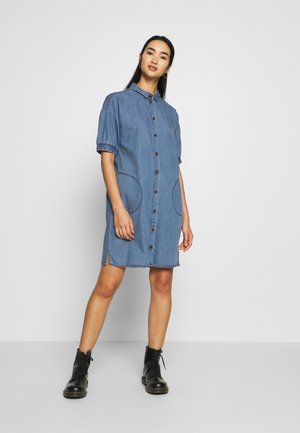 NMJENNY SDRESS  - Dongerikjole - medium blue denim