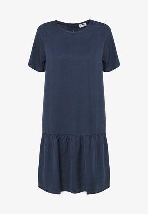NMEMILIA SENDI PEPLUM DRESS - Kjole - mood indigo