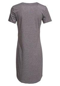 Noisy May - NMSIMMA DRESS - Jersey dress - medium grey melange - 1
