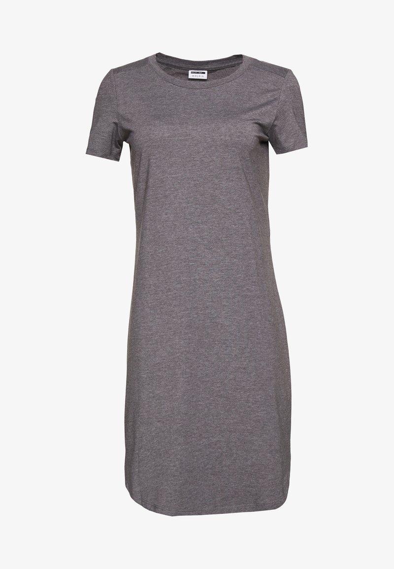 Noisy May - NMSIMMA DRESS - Jersey dress - medium grey melange