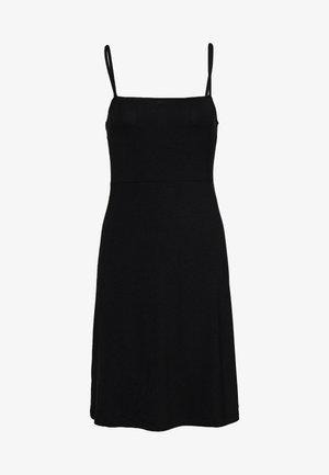 NMSUMMER STRAP DRESS - Denní šaty - black
