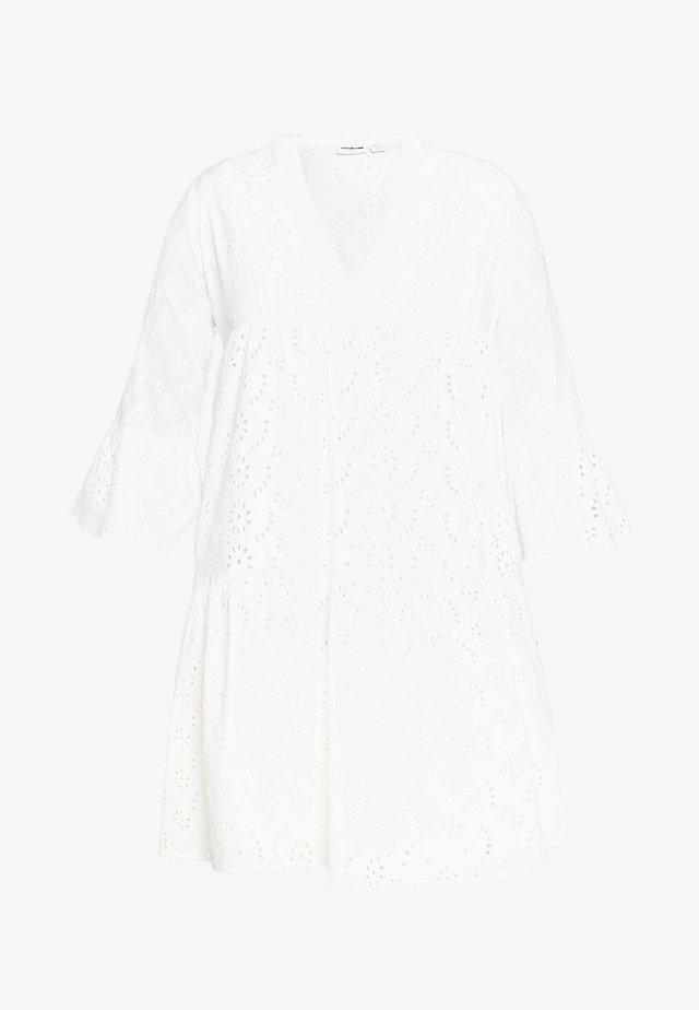 NMSELIN - Korte jurk - bright white