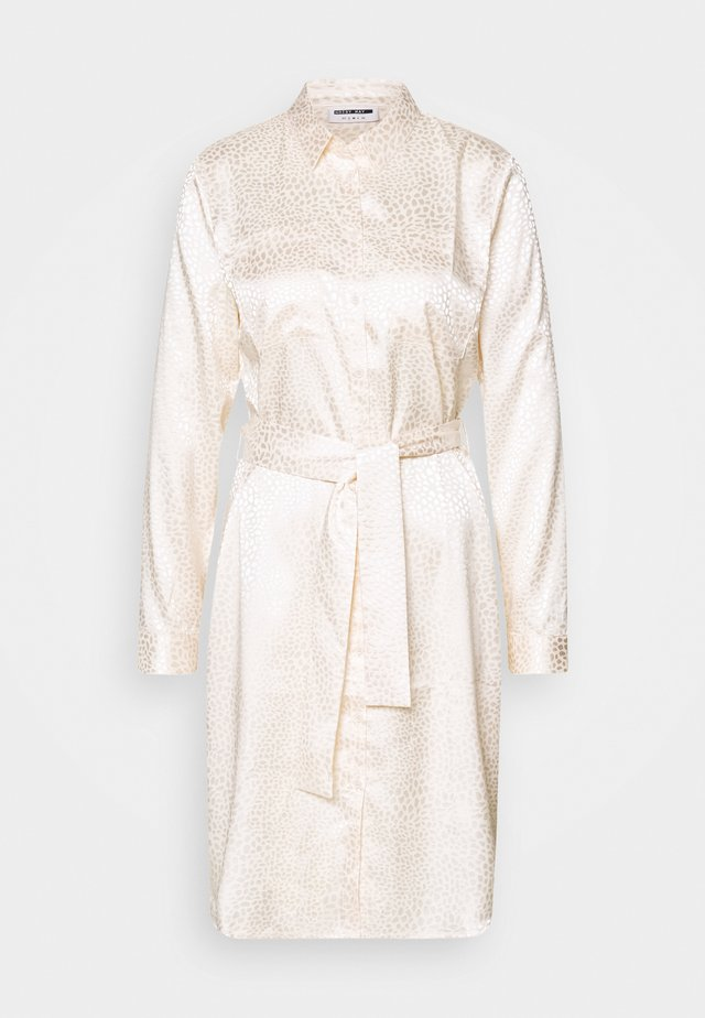 NMSEREN DRESS - Sukienka koszulowa - beige