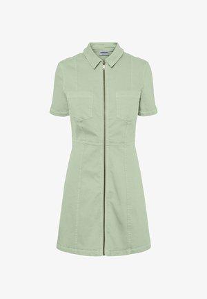 Shirt dress - fog green