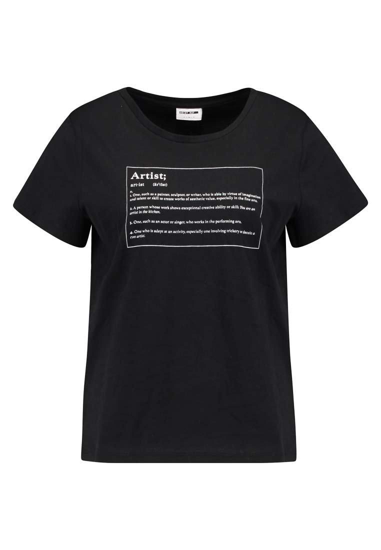 Noisy May T shirt imprimé black ZALANDO.FR