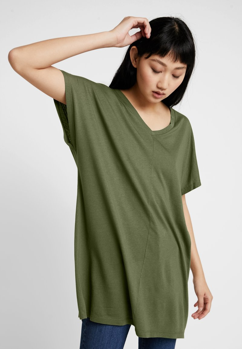 Noisy May - NMZITA MAYDEN - Basic T-shirt - burnt olive
