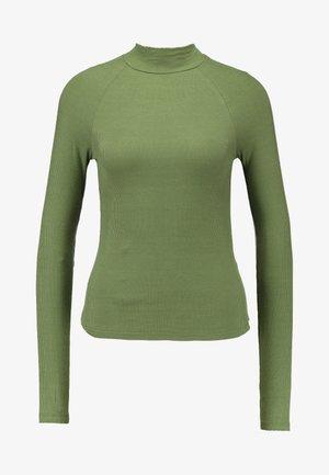 Långärmad tröja - olivine