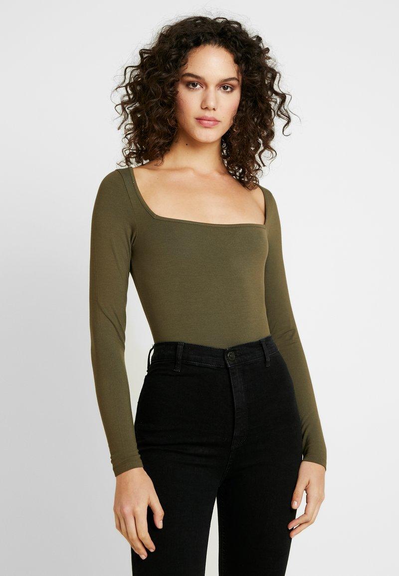 Noisy May - T-shirt à manches longues - ivy green
