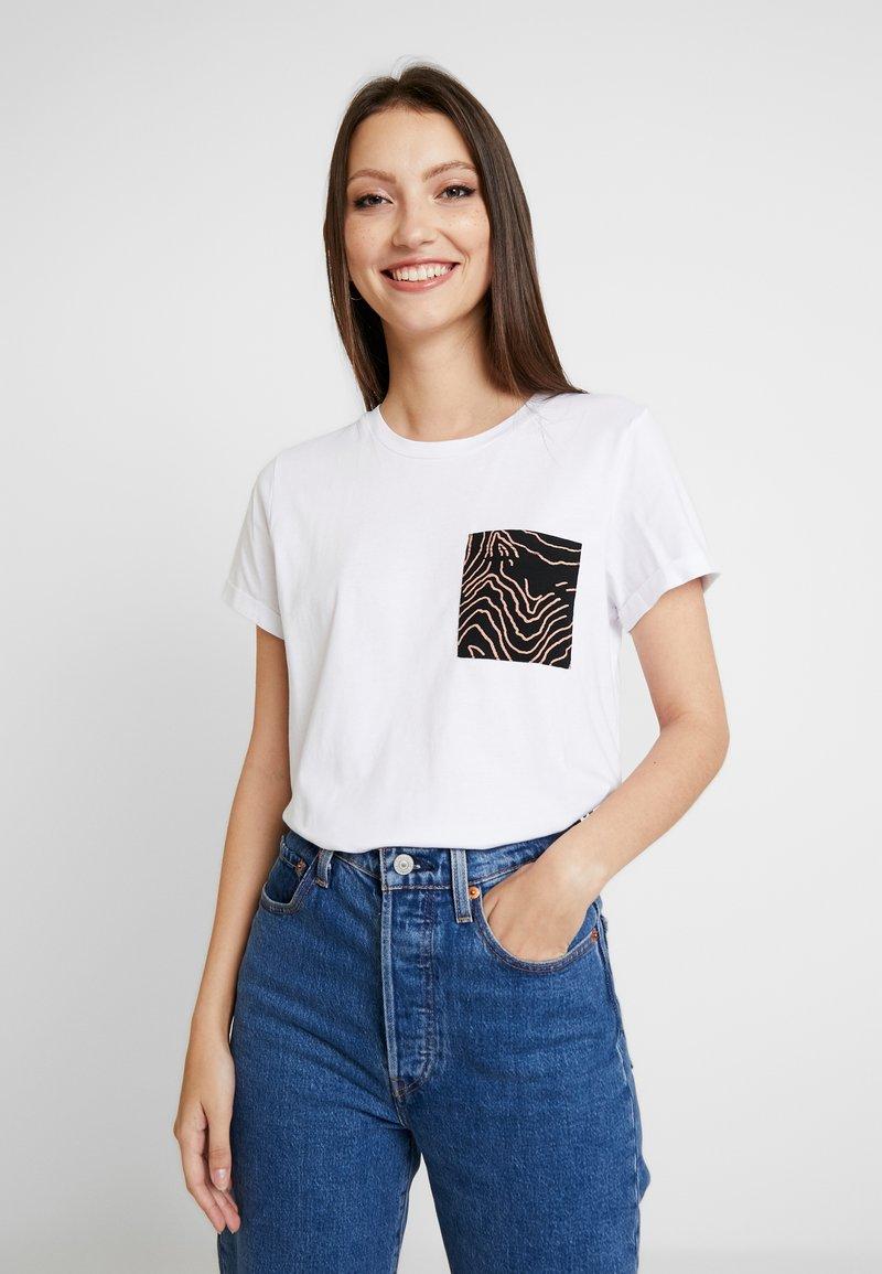 Noisy May - Print T-shirt - bright white