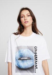 Noisy May - T-shirts med print - bright white - 5