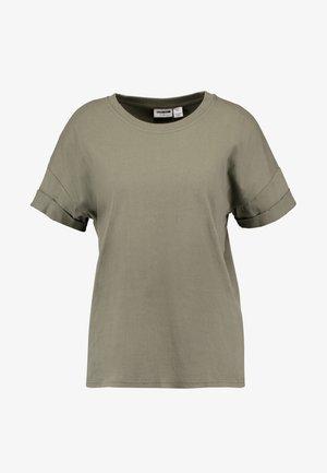 NMUNA - T-shirt basic - dusty olive