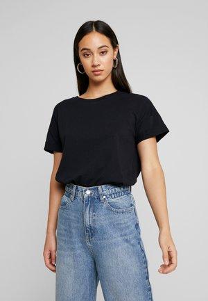 NMUNA - T-shirt basic - black