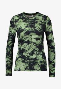 Noisy May - NMLINEA - Långärmad tröja - olivine - 3